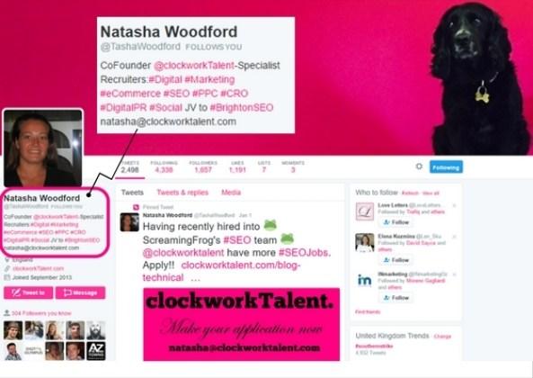 Natasha Woodford's Twitter