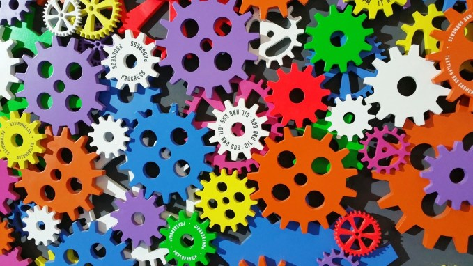 Colourful Cogs!