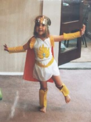 Allegra Chapman as She-Ra!