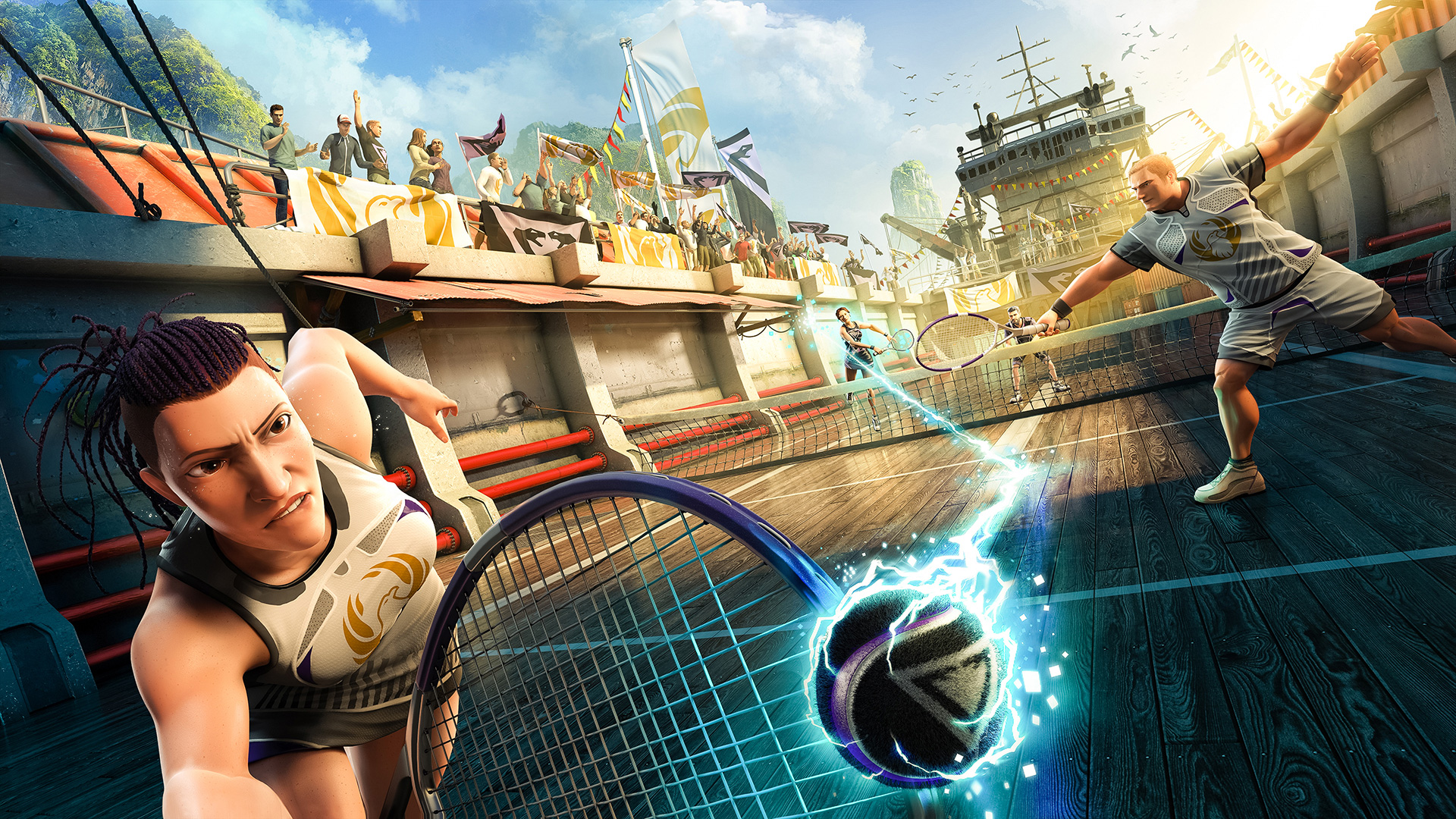 Kinect Sports Rivals Clockwork VFX