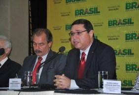 Roberto Brandão e Aloísio Mercadante