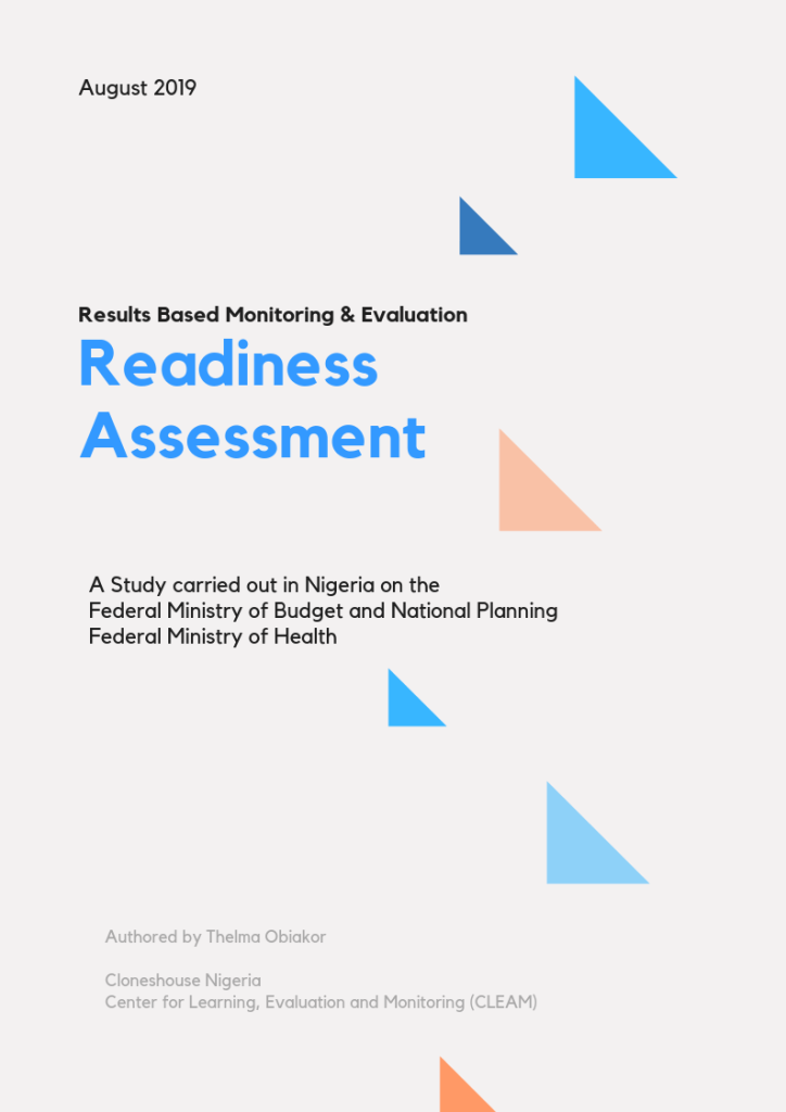 Nigeria Readiness Assessment 2019, Cloneshouse Nigeria