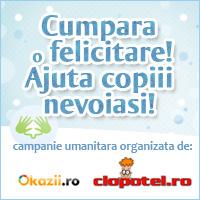Doneaza o felicitare pentru copiii nevoiasi!