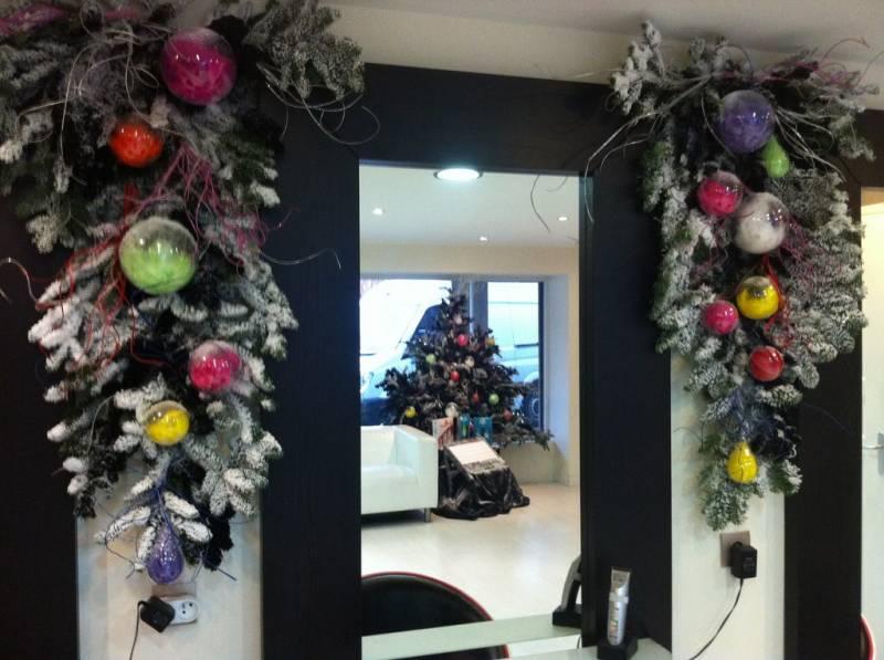 Decoration Noel Salon De Coiffure