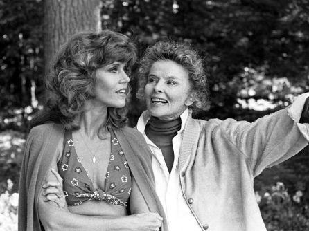 Jane Fonda Katharine Hepburn La maison du lac