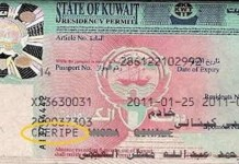 kuwait visa checking