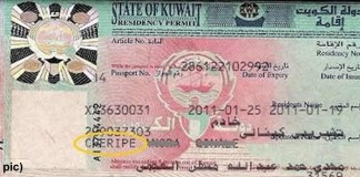 kuwait visa checking