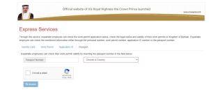 check bahrain visa