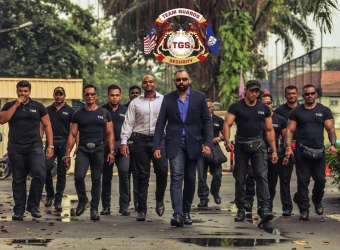 security guard teamwork