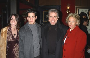 John Walsh with wife Reve and childern Megan and Callahan