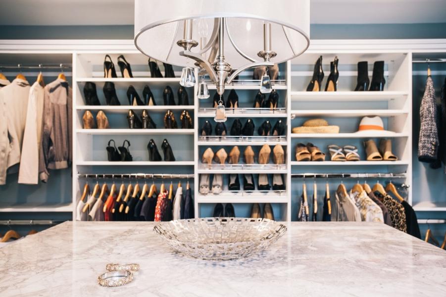 walk in closet lighting ideas that make