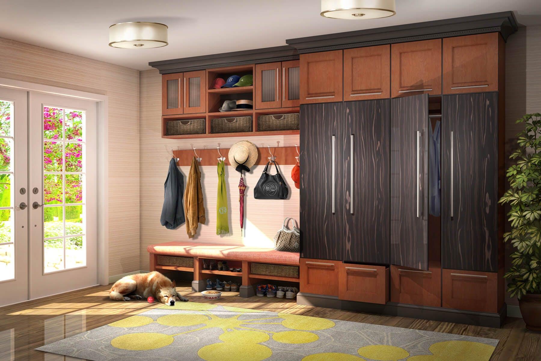 Mudroom Cabinet Design And Installation Closet Factory