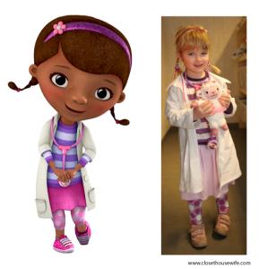 McStuffins vs Silja (borrowed from Disney)