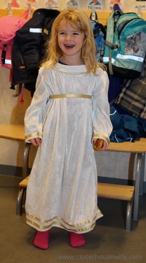 Happy Lucia girl