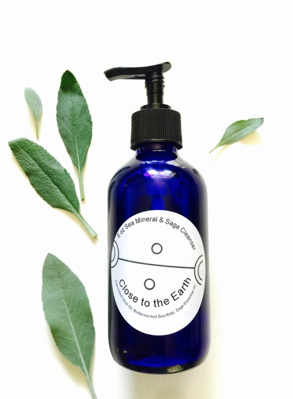 Sea Mineral and Sage Cleanser