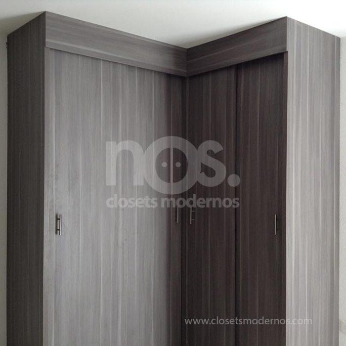 Closet escuadra 4b nos closets modernos for Closets estado de mexico