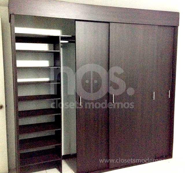 closets modernos economicos df corredizo