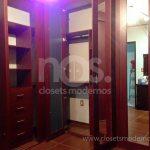 closets modernos de madera
