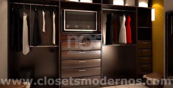 Vestidor Moderno  NOS Closets Modernos