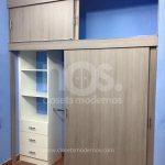 closets modernos de madera economicos corredizos cdmx df mexico