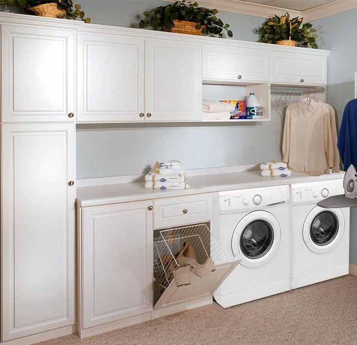 Custom Laundry Cabinets and Storage System on Laundry Cabinets  id=30712