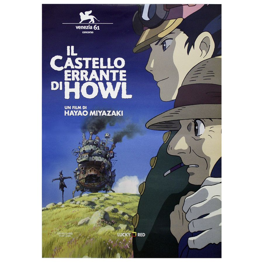 howl s moving castle poster