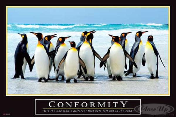 Conformity Barney Stinson Poster How I Met Your Mother