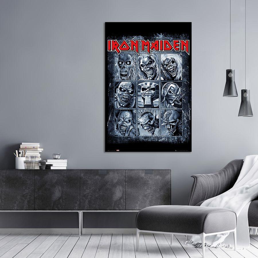 iron maiden poster fanartikel bei