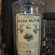 Dark Elixir Apothecary Jar