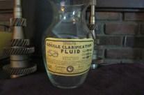 Goggle Clarification Fluid Apothecary Jar