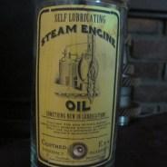 Steam Engine Oil Apothecary Jar