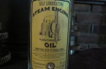 Steam Engine Oil Apothecary Jar