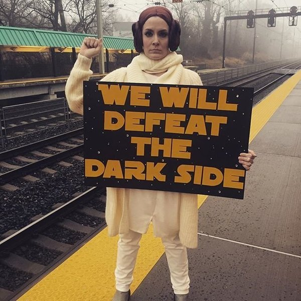 we will defeat the darkside