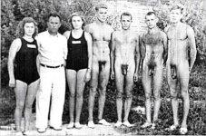 Coed swim team