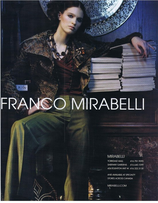 FRANCO MIRABELLI THE LOOK FALL 2005