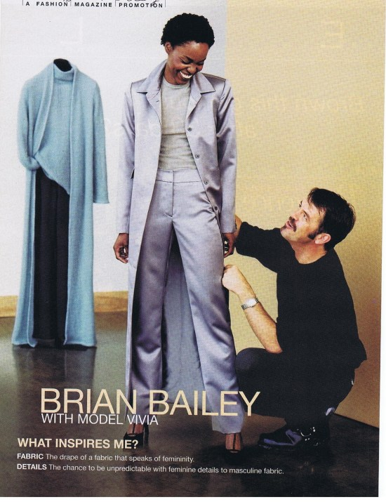 BRIAN BAILEY FASHION WINTER 2001