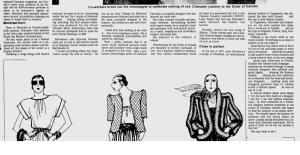 LEO CHEVALIER MONTREAL GAZETTE JAN 11 1979 BODY OF PAGE