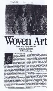 ZONDA NELLIS GLOBE AND MAIL 29 01 1982