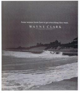 WAYNE CLARK BAZAAR NOV 1984
