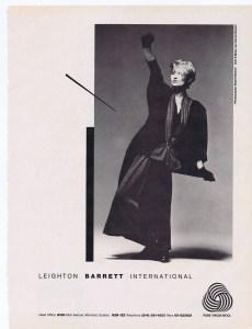 LEIGHTON BARRETT FLARE 1984
