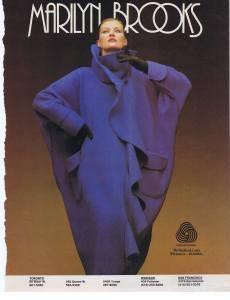 MARILYN BROOKS FLARE AUG 1985