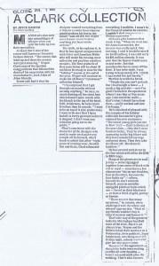 WAYNE CLARK GLOVE AND MAIL 01 07 1986