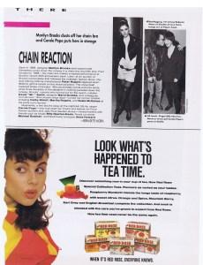 MARILYN BROOKS FLARE  APRIL 1988