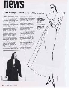 LIDA BADAY FLARE JULY 1989