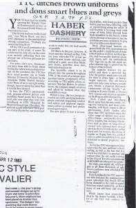 LEO CHEVLAIER GLOBE AND MAIL 03 02 1994