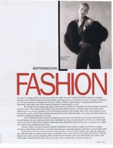 JOEFFER CAOC FASHION SEPT 2000