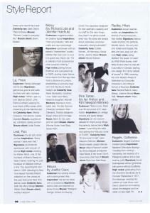 CATHERINE REGEHR FLARE APRIL 2003