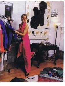 CATHERINE REGEHR FLARE MAY 1989