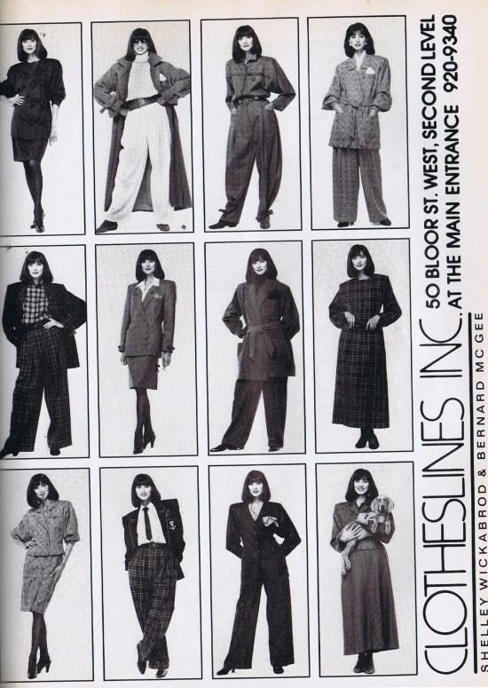 CLOTHESLINES FLARE SEPTEMBER 1989