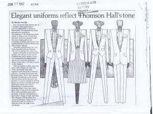 CLOTHESLINES TORONTO STAR 17.06.1982